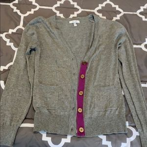 Delia's women's button up sweater